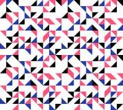 Fundo retro dos triângulos Ilustração do Vetor