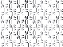 Fundo retro, geométrico Imagens de Stock Royalty Free