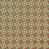 Fundo retro geométrico abstrato editável Ilustração Stock