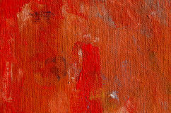 Fundo retro pintado vermelho de pano do grunge da lona fotos de stock royalty free