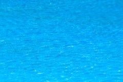 Fundo rippled da água azul na piscina Fotos de Stock