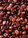 Fundo Roasted aromático do feijão de café Imagem de Stock
