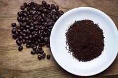 Fundo Roasted dos feijões de café imagens de stock royalty free