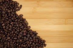 Fundo Roasted dos feijões de café Imagem de Stock Royalty Free