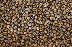Fundo Roasted dos feij?es de caf? imagem de stock royalty free