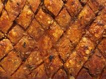 Fundo roasted dourado marcado rústico da pele da barriga de carne de porco fotos de stock royalty free