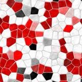 Fundo rochoso plástico irregular de mármore abstrato colorido vibrante da textura do teste padrão de mosaico Imagem de Stock Royalty Free