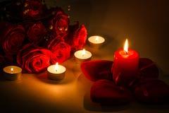 Fundo romântico Fotos de Stock Royalty Free