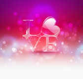 fundo romântico Foto de Stock Royalty Free