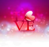 fundo romântico Imagens de Stock Royalty Free