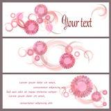 Fundo romântico com flor ilustração royalty free
