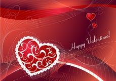 Fundo romântico para o dia de Valentim Foto de Stock Royalty Free