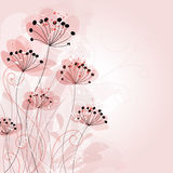 Fundo romântico da flor Imagens de Stock