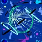Fundo roxo azul abstrato, teste padrão sem emenda 18-18 Imagens de Stock