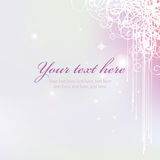 Fundo roxo cor-de-rosa Foto de Stock Royalty Free