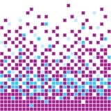 Fundo roxo do mosaico Imagem de Stock
