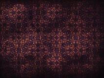 Fundo roxo do teste padrão de flor do Grunge Fotografia de Stock Royalty Free