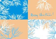 Fundo s ajustado do Natal de Mary ilustração do vetor