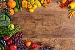 Fundo saudável do alimento imagens de stock