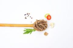 Fundo saudável do alimento biológico com o vário ingredi dos vegetais Imagens de Stock