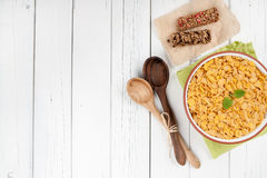 Fundo saudável do café da manhã Fotos de Stock