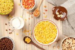 Fundo saudável do café da manhã Foto de Stock