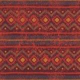 Fundo sem emenda étnico Teste padrão geométrico tribal da cor Fotografia de Stock