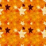 Fundo sem emenda abstrato das folhas de outono Imagens de Stock Royalty Free