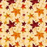 Fundo sem emenda abstrato das folhas de outono Foto de Stock