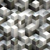 Fundo sem emenda abstrato do cubo ilustração stock