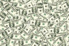 Fundo sem emenda abstrato do teste padrão Fundo dos dólares Imagens de Stock Royalty Free