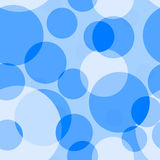 Fundo sem emenda azul Foto de Stock Royalty Free