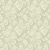 Fundo sem emenda bege do teste padrão do retângulo Ilustração do Vetor