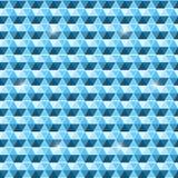 Fundo sem emenda bonito do teste padrão do hexágono ilustração do vetor
