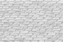 Fundo sem emenda branco da parede de pedra do tijolo Foto de Stock Royalty Free