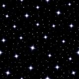 Fundo sem emenda celestial com estrelas efervescentes Imagem de Stock