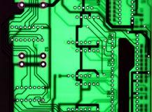 Fundo sem emenda claro da textura da placa do chipset Imagem de Stock Royalty Free