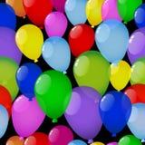 Fundo sem emenda com balões ilustração royalty free
