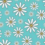 Fundo sem emenda com flores Fotografia de Stock Royalty Free
