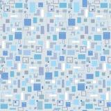 Fundo sem emenda com quadrados cinzentos Imagem de Stock