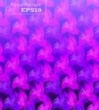 Fundo sem emenda com teste padrão de flores cor-de-rosa Fotografia de Stock Royalty Free