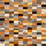 Fundo sem emenda com testes padrões de madeira Foto de Stock Royalty Free