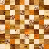 Fundo sem emenda com testes padrões de madeira Imagens de Stock Royalty Free