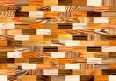 Fundo sem emenda com testes padrões de madeira Fotos de Stock Royalty Free