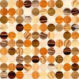 Fundo sem emenda com testes padrões de madeira Imagem de Stock Royalty Free