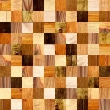 Fundo sem emenda com testes padrões de madeira Fotografia de Stock