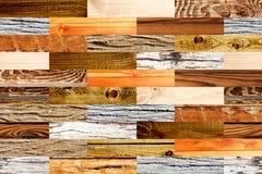 Fundo sem emenda com testes padrões de madeira Imagens de Stock
