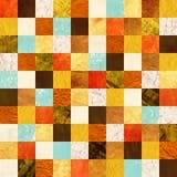 Fundo sem emenda com testes padrões de papel Imagem de Stock Royalty Free