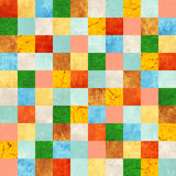 Fundo sem emenda com testes padrões de papel Imagens de Stock Royalty Free
