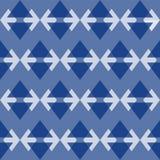 Fundo sem emenda com triângulos, ilustração colorida do teste padrão ilustração do vetor